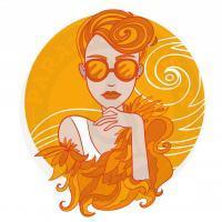 orange girl<br>