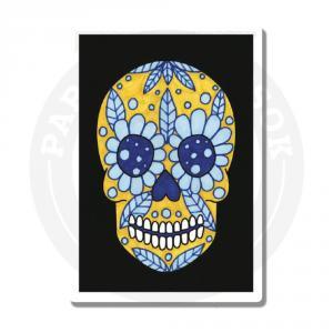 Наклейка Череп Мексиканский / Skull Muertos<br>
