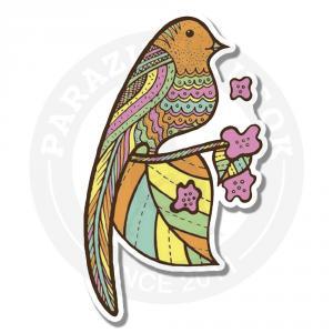 Цветная птичка<br>