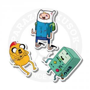 Джек, Фин, Бимо/Stickers Jake, Finn, BMO<br>
