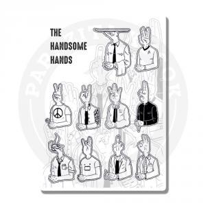 Наклейки Классные ребята/Руки-головы<br>