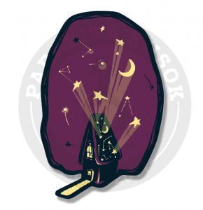 Стикер Домик хозяина звёзд<br>