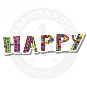 happy<br>