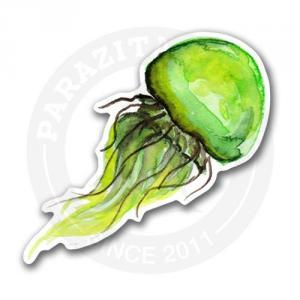 Зеленая медуза<br>