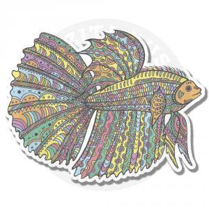 Красочная рыбка<br>