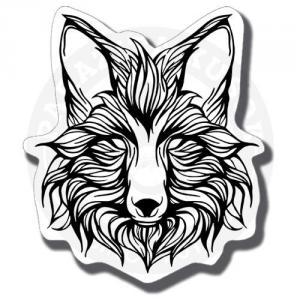 Наклейка Волк/Sticker Wolf<br>