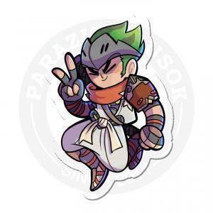 Genji from Overwatch<br>