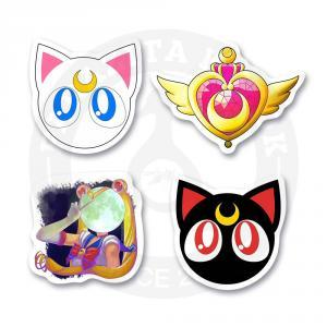 Набор стикеров Сейлор Мун / Sailor Moon<br>