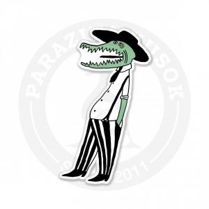 Крокодил в шляпе<br>