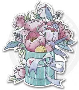 Наклейка Акварельные Цветы<br>