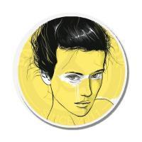 Девушка в желтом<br>