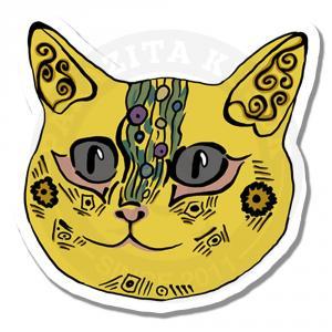 Котик в стиле Климта<br>