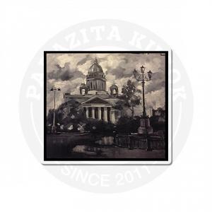 Санкт-Петербург в серых тонах<br>