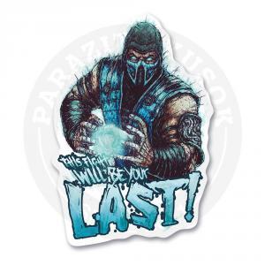 Стикер Саб-зиро / Mortal Kombat<br>