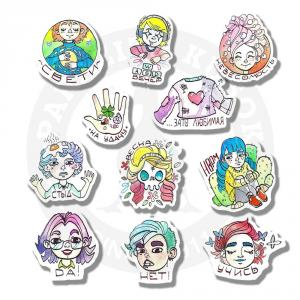 Летние эмоции/Stickers Summer emotions<br>
