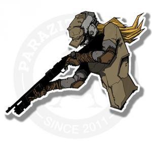 Девушка солдат<br>