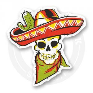 Стикер Мертвый мексиканец<br>