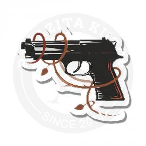 Пистолет с узором<br>