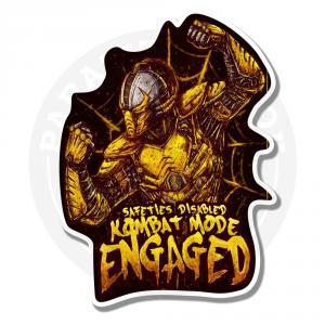 Наклейка Сайрекс/Mortal Kombat<br>