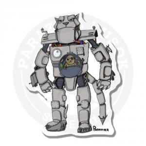 Наклейка РобоКот<br>