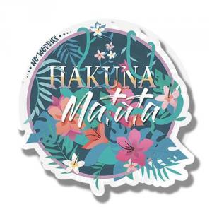 Наклейка Леттеринг Hakuna Matata<br>
