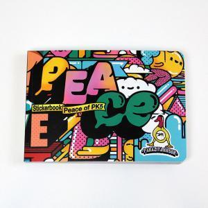 Стикербук Parazitakusok 5 - PEACEКниги<br>Стикербук Parazitakusok 5 - Peace. Купить книгу с наклейками PK5<br>