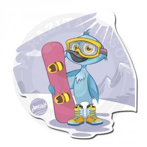 Птица-сноубордист<br>