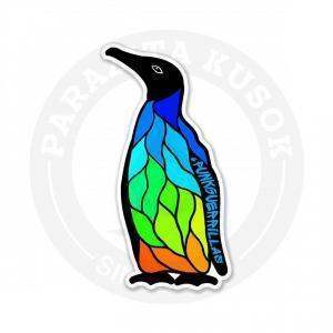 Пингвин от арт-группировки punkguerrillas<br>