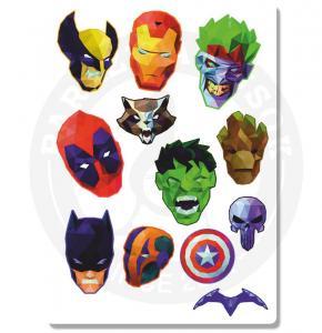 Наклейки Супергерои<br>