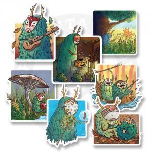 Приключения в осеннем лесу<br>