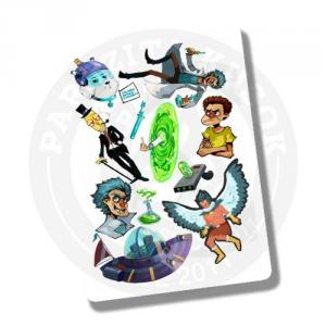 Стикерпэйдж Рик и Морти Rick and Morty<br>