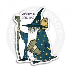 Старый колдун в шляпе<br>