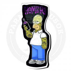Стикер Гомер -Граффити / Симпсоны /The Simpsons<br>