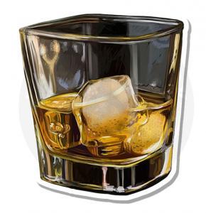 Бокал виски<br>