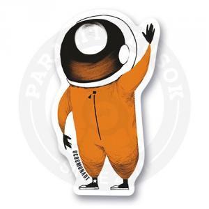Стикер Космонавт приветствует<br>