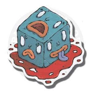 Наклейка Куб<br>