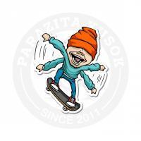 Прыжок скейтера<br>