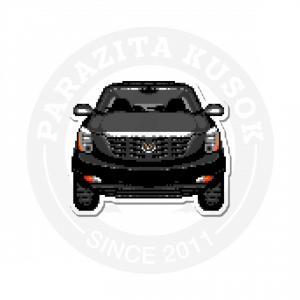 Черный пиксельный Cadillac<br>