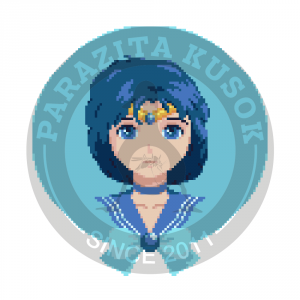 Наклейка Автор: Sailor Mercury.<br>