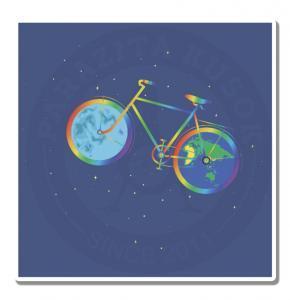 Велосипед радуга<br>