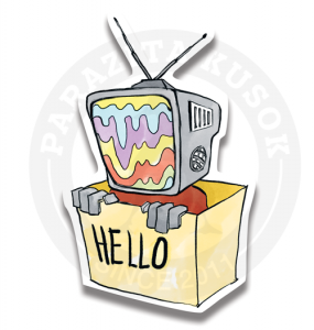 Телевизор говорит тебе Привет!<br>