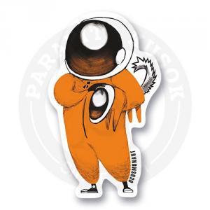 Космонавт с собакой<br>