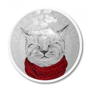 Кот зимой<br>
