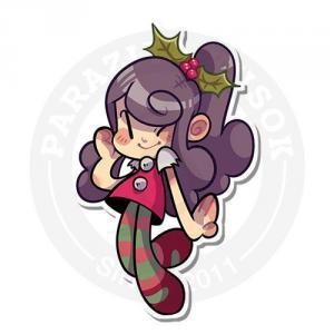 Праздничная девочка<br>