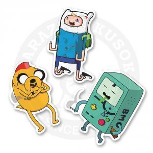 Набор стикеров Джек, Фин, Бимо / Время Приключений / Adventure Time<br>