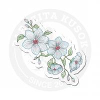 Голубые цветы<br>
