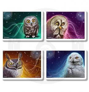 Набор стикеров Совы / Гарри Поттер / Harry Potter<br>