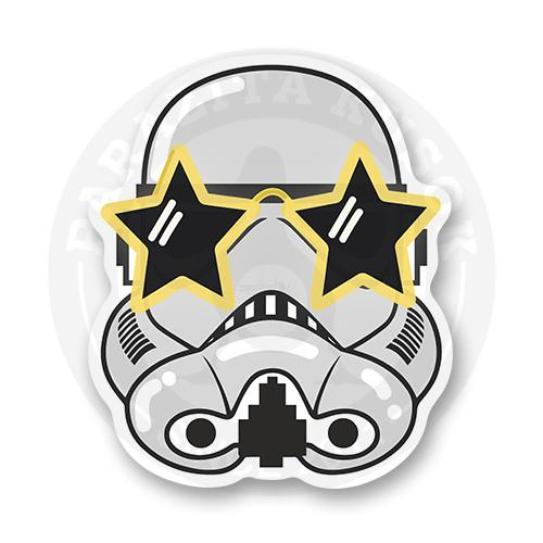 Стикер Штурмовик-звезда / Звездные войны / Star Wars<br>
