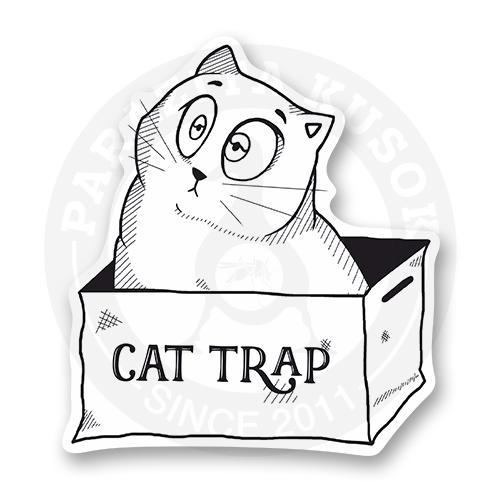 Стикер Ловушка для кота<br>
