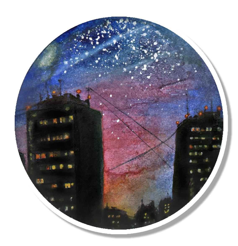 Ночной город<br>